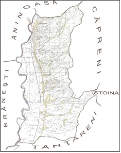 Harta Comuna Turburea